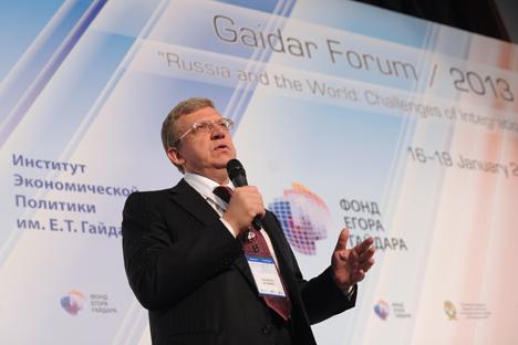 Alekséi Kúdrin, exministro de finanzas. Fuente: Alexey Filippov / RIA Novosti
