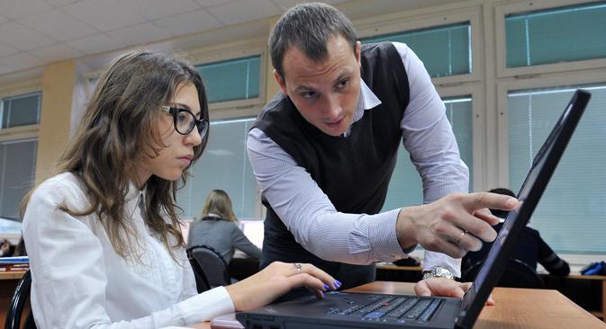 Rusia está entre los diez primeros países en contratación del mundo, y el puesto más demandado es el de gerente de nivel medio. Fuente: Vladímir Pesnya / RIA Novosti