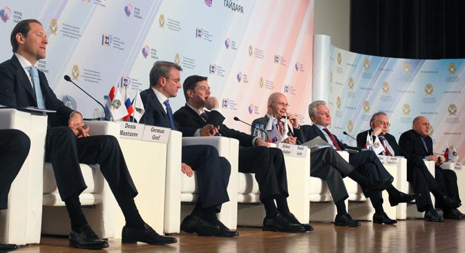 El economista Augusto López-Claros reconoce los avances pero también cree que se puede hacer más. Fuente: Vitali Belousov / RIA Novosti