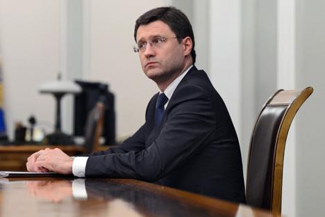 El ministro de Energía de la Federación Rusa, Alexánder Novak