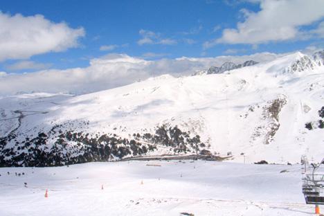 Las montañas de Andorra.  Fuente Flickr