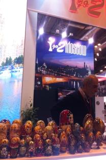 El stand I go 2 Moscow en Fitur. Fuente: Pablo León.