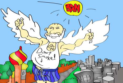 Dibujo de Dan Pototski.