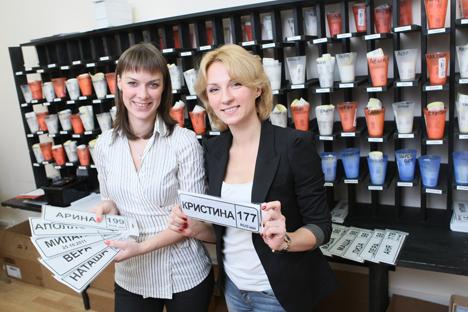 """Dos mujeres de San Petersburgo pusieron en marcha la """"start-up"""" en 2011, que factura miles de euros al mes. Fuente: Védomosti / fotoimedia"""