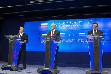 La pasada cumbre Rusia-UE celebrada en el mes de diciembre. Fuente: Consejo de Europa.
