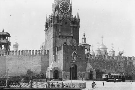Kremlin de Moscou concentrava o poder do Estado durante a época imperial Foto: Iliá Varlamov