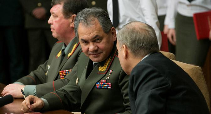 El ministro de Defensa de la Federación rusa, Serguéi Shoigu. Fuente: ITAR TASS