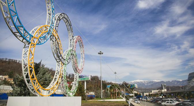 Expertos opinan sobre el coste de las Olimpiadas de invierno en Rusia, que serán las más caras de la historia. Fuente: ITAR-TASS