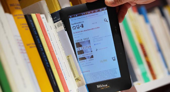 Los nuevos formatos crean nuevas tendencias de lectura. Fuente: ITAR-TASS