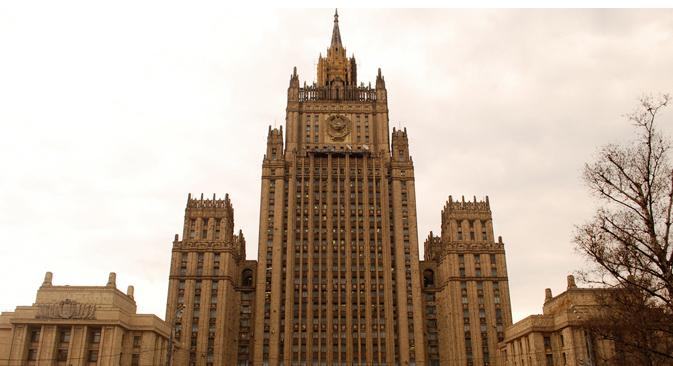 Ministerio de Asuntos Exteriores en Moscú. Fuente: PhotoXPress.