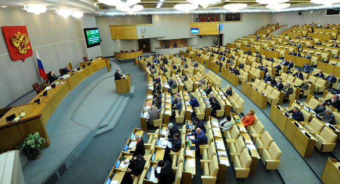 Las nuevas leyes versan sobre transporte, política, educación, impuestos y relaciones internacionales. Fuente: RIA Novosti / Alexéi Nikolski