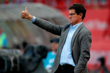 Entrevista con el veterano entrenador italiano de fútbol que entrena a la selección rusa. Fuente: AP