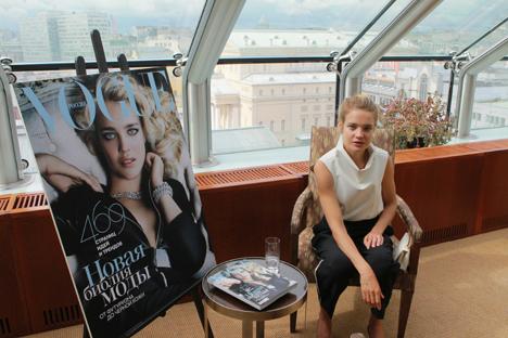 Entrevista a la famosa modelo rusa, Natalia Vodiánova. Fuente: RIA Novosti