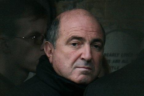 La Fiscalía General rusa tiene intención de solicitar una indemnización por las causas judiciales del fallecido Borís Berezovski. Fuente: Reuters