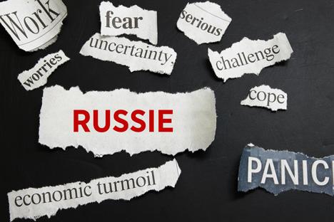 Trabajo, miedo, seriedad, preocupación, incertidumbre, dificultades, Rusia, libertad de expresión, corrupción, pánico. Fuente: PhotoXpress