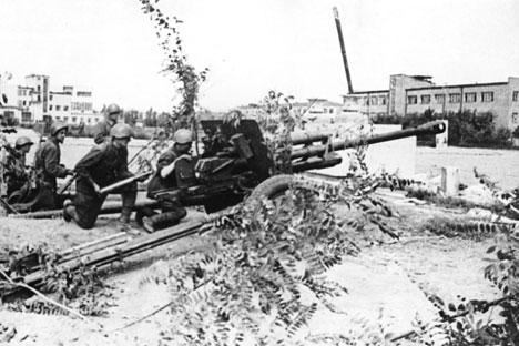 En la antigua Tsaritsin y actual Volgogrado giró el gozne de la historia. Fuente: RIA Novosti