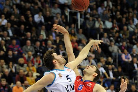 Real y CSKA se han enfrentado 35 veces en la Copa de Europa de baloncesto. Fuente: CSKAbasket.com