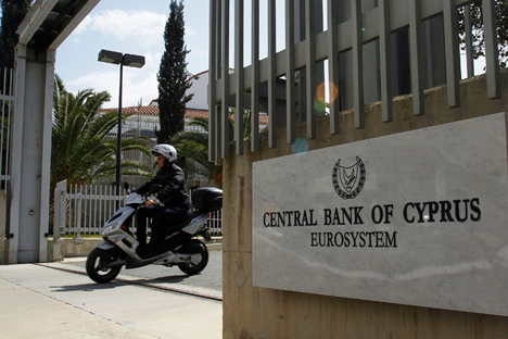 Chipre está planejando compensar os prejuízos dos investidores russos atingidos pela crise financeira Foto: AP