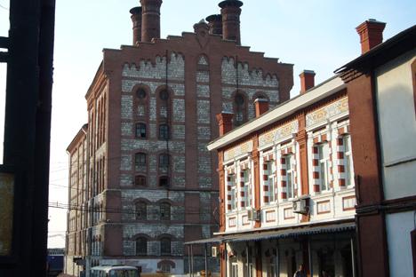 La fábrica cervecera más antigua de Rusia. Fuente: Alver / wikipedia