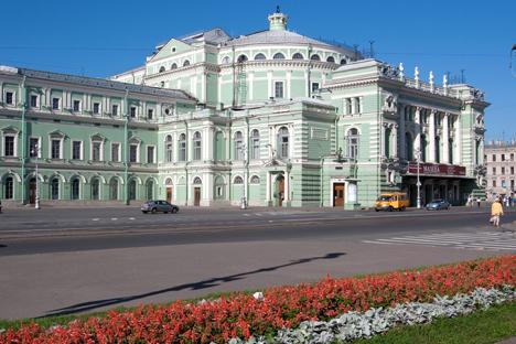 El teatro Mariinski. Fuente: Lori / LegionMedia