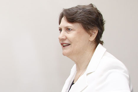 Olga Yegórova, presidenta del Tribunal Supremo. Fuente: Flickr/ONU