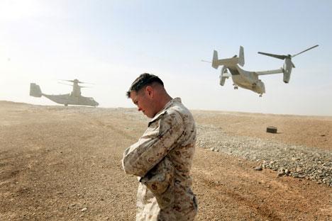 Lleva una vida seminómada y vivía con con afganos, después de que fuera herido en combate. Fuente: Reuters
