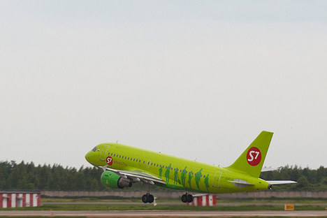 La compañía aérea, también conocida como S7,  vuelve a salir a la venta. Fuente: flikcr / Andréi Belenko