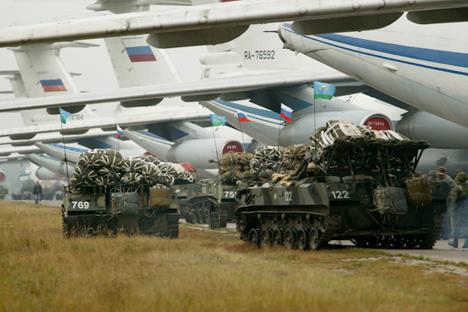 Realizaron ejercicios para comprobar su capacidad operativa cerca de Cheliábinsk. Fuente: Mil.ru