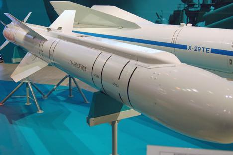 Misil aire-superficie ruso X-38. Fuente: wikimedia.org