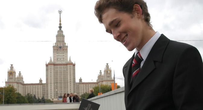 Rusia evalúa sus centros universitarios según la cantidad de parados entre sus graduados. Fuente: RIA Novosti / Tatiana Podoinítsyna