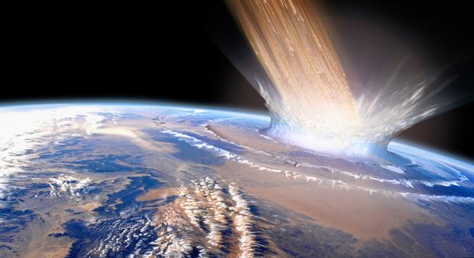 Rusia prepara un nuevo proyecto, que verá la luz a finales de este año, para  contrarrestar la posible caída de asteroides. Fuente: PhotoXpress