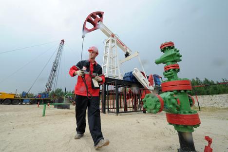O maior negócio de exportação do ano foi o contrato da Rosneft com a chinesa CNPC para o fornecimento adicional de 365 milhões de toneladas de petróleo Foto: RIA Nóvosti
