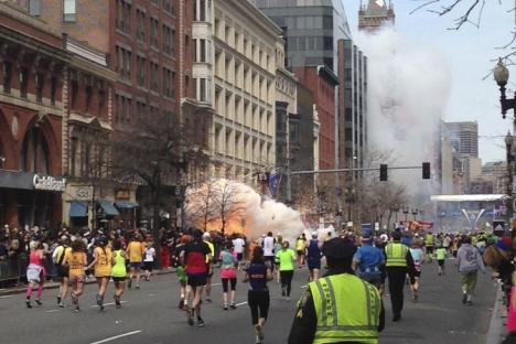 """""""Lo ocurrido en Boston es un recordatorio de que tenemos que consolidar las relaciones en vez de realizar listas"""". Fuente: Reuters / Dan Lampariello"""