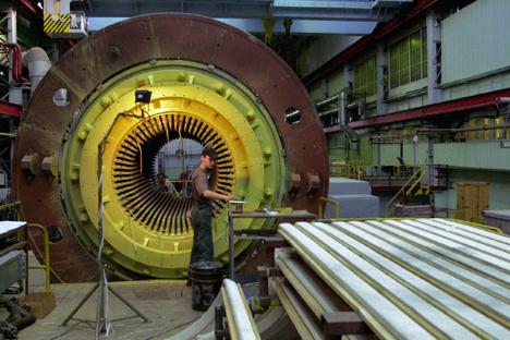 El holding Power Machines ha fabricado el equipamiento para la central hidroeléctrica Punta Negra. Fuente: ITAR-TASS