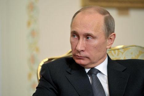 Vladímir Pútin continua sendo o político mais popular da Rússia Foto: ITAR-TASS