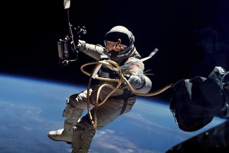 Hoy se cumplen 52 años del primer vuelo tripulado de la historia a cargo de Yuri Gagarin. Fuente: NASA