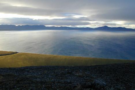 Tras una expedición de la Sociedad Geográfica al lago helado Labinkir, se ha disparado la fiebre por el monstruo. Fuente:  Piotr Tijomírov / Panoramio