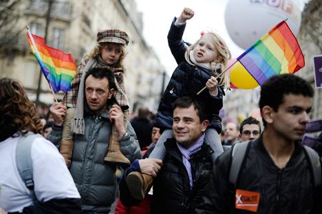 El uso de la homofobia para desviar los problemas más actuales? Fuente: AFP / EastNews