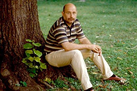 El escritor ruso Borís Akunin. Fuente: Leemage / East News