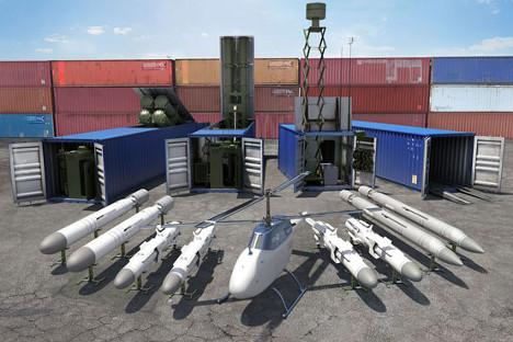 """El sistema modular CLUB-K abre una nueva página en la creación de armas de defensa de nueva generación. Fuente: """"Morinformsistema-Agat"""""""