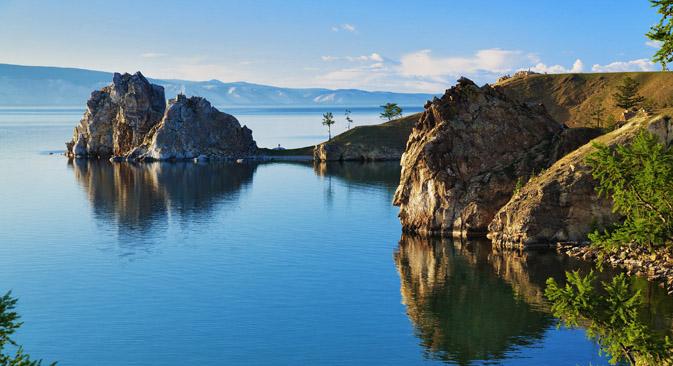 Baikal, el lago más grande del mundo. Fuente: shutterstock / Legion Media