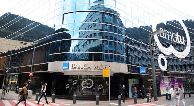 Es posible que el dinero esté guardado más cerca: en Andorra. Fuente: AFP / East News