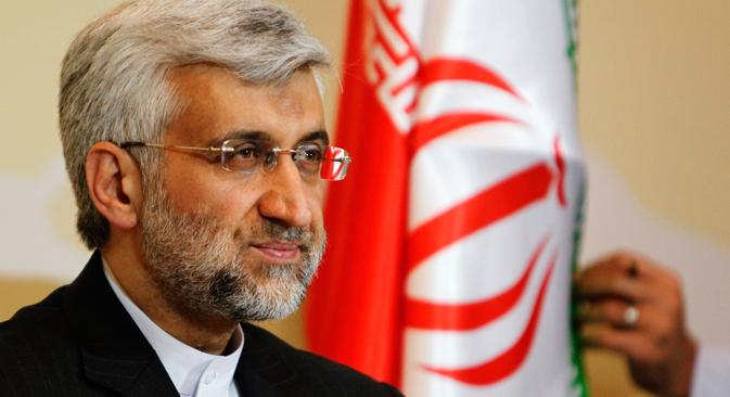 Saíd Yalilí, el director de la delegación iraní. Fuente: Reuters