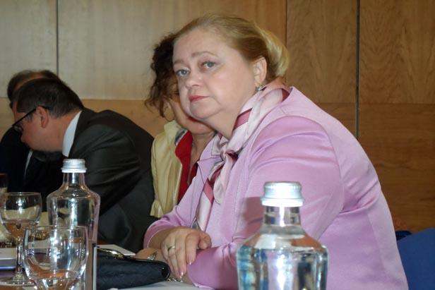 Lia Luchnikova, directora general de la Casa de Rusia en Barcelona. Foto : Maite Montroi