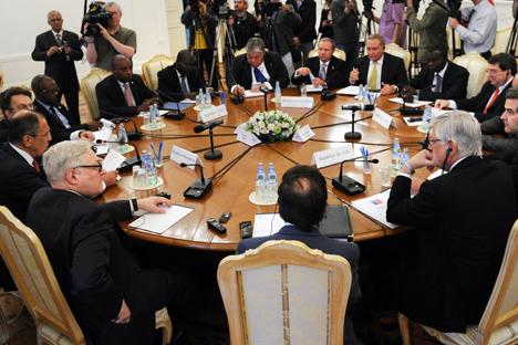 El ministro de Asuntos Exteriores se reúne con sus homólogos del Caribe y América Latina. Fuente: AFP / East News