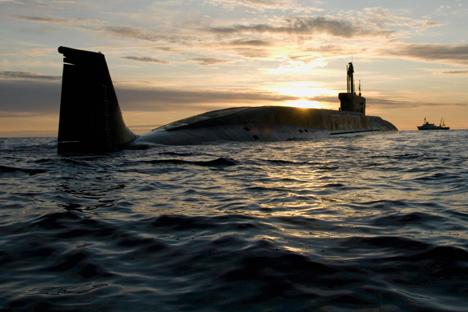 Até 2020, Sevmach planeja construir 15 submarinos nucleares de nova geração Foto: RIA Nóvosti