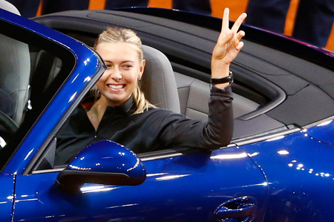 Entrevista a la tenista rusa que habla sobre sus victorias y derrotas, sus caramelos y los Porsches. Fuente: Reuters