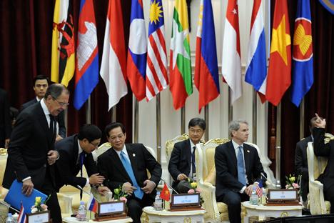 El foro empresarial Rusia-ANSA trata de impulsar las oportunidades de generar ingresos en Asia. Fuente: AFP / EastNews