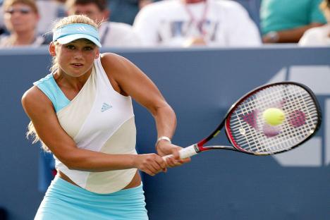Ana Kournikova no llegó a ganar ningún torneo. Fuente: Archivo.
