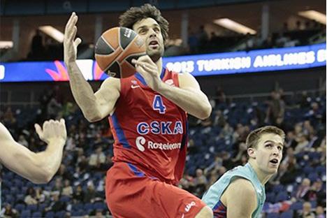 El serbio Milos Teodosic, gran decepción del CSKA en la F4. Fuente: cskabasket.com.